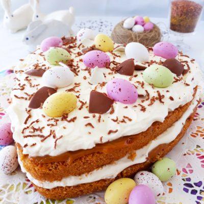 Suklaa-kinuskikakku-pellavarouhe-pellavansiemenrouhe-pellavansiemen-kakku-resepti